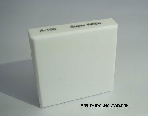 Đá nhân tạo Solid surface A100 super white