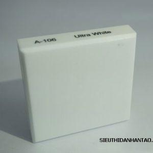 Đá nhân tạo Solid surface A106 Ultra white