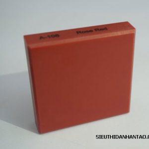 Đá nhân tạo Solid surface A108 Rose red