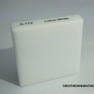 Đá nhân tạo Solid Surface A112 Lotus White