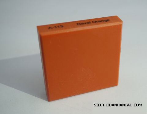 Đá nhân tạo Solid Surface A113 Navel Orange