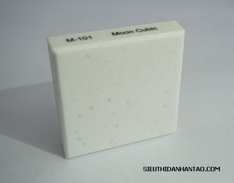 Đá nhân tạo Solid surface M101 Moon Cubic