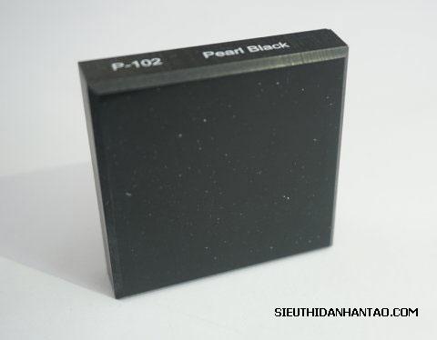 Đá nhân tạo Solid surface P102 Pearl Black