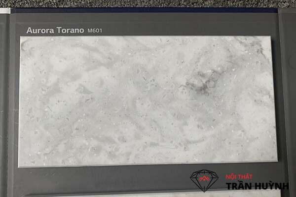 đá nhân tạo vân mây Aurora Torano M601