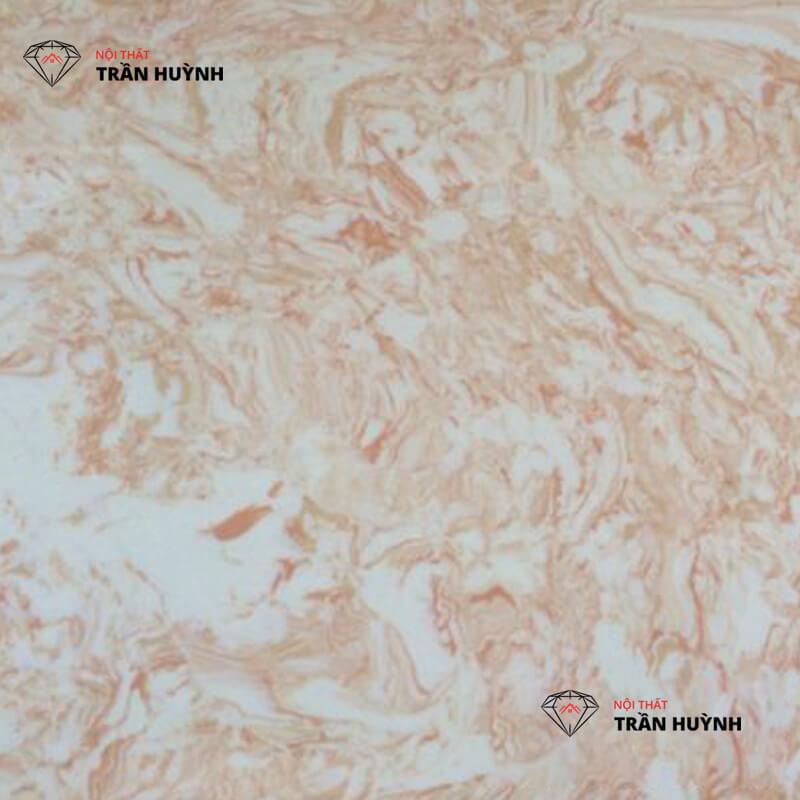 Đá marble nhân tạo hồng vân mây