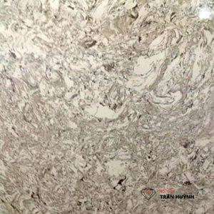 đá nhân tạo marble đen vân trắng