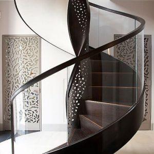 Đá ốp cầu thang – đá ốp cầu thang màu đen quyền lực khó cưỡng