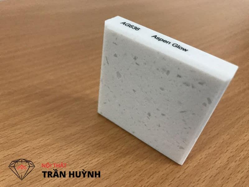 đá nhân tạo solid surface Staron Ag636 Aspen Glow